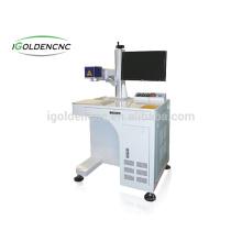marquage en métal / gravure / machine de marquage au laser de fibre de métal 20w
