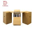 Caixa de empacotamento de papel feita sob encomenda direta da fábrica da qualidade superior para a roupa