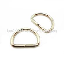 Suficiente estoque Grande qualidade metal d anéis personalizados
