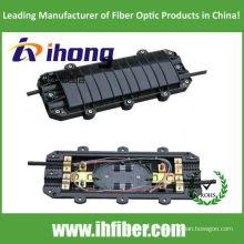 Fecho de junta de fibra horizontal