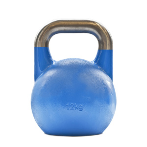Concorso in ghisa colorato 12kg Kettlebell