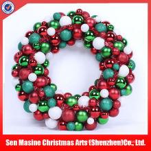 Plástico colgante bulto al aire libre decoraciones de Navidad LED