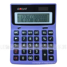 Calculatrice de marge de vente à double coût de 12 chiffres pour Office / Bank (LC212CSM)
