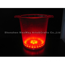 Eco-friendly LED Colourful Hot Sale Ice Bucket/Tong/Container