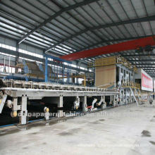 Medium Paper Making Machine Fluting Paper Machine