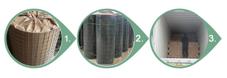 Green Welded Wire Mesh packing