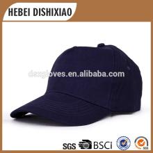 Promotion 100% Baumwolle Blank 6 Panel Baseball Cap und Hut