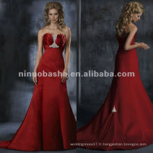 Robe de mariée à la robe de mariée A-ligne Robe de mariée