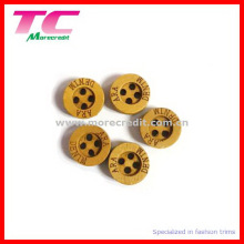 10mm Flat Edge Wooden Button