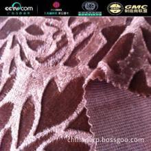 Home textile Polyester Super-soft Embossed Velboa Fabric For Upholeste