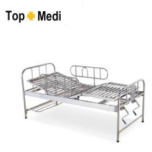 Topmedi hospital destacável Gaurd aço inoxidável enfermagem cama