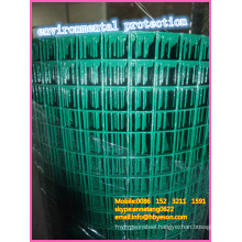 "home depot high quality 1"" green environmental vinyl coating pvc welded Wire Mesh vendor"