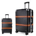 Handlaufkatzenreisetaschengepäck für Flughafen