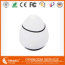2017 Newest Wholesale business gifts creative egg design universal travel adapter charger NT690