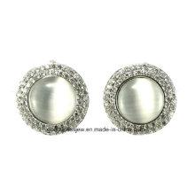 Pendientes de la manera de la plata esterlina del regalo 925 de la Navidad del precio bajo al por mayor E6348