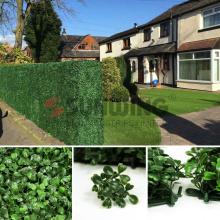 Gartendekoration künstliche Buchsbaum Grünplatten für Wohnkultur