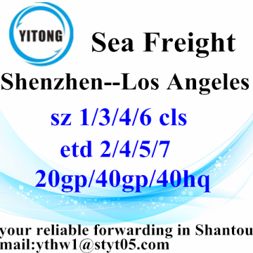 Agent maritime Shenzhen Cargo Shipping à Los Angeles