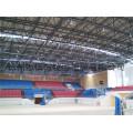 Prefabricated Space Frame Indoor Gym Bleachers