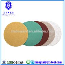 Discos de lixamento abrasivos anti-entupimento revestidos de 6 polegadas