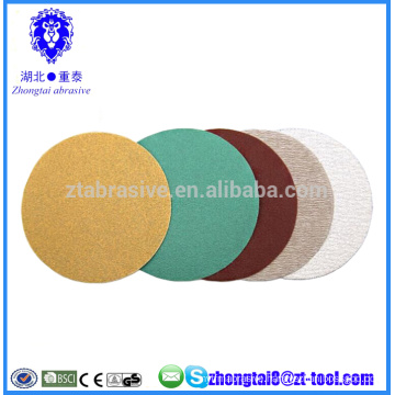 6 inch coated anti-clogging abrasive sanding discs