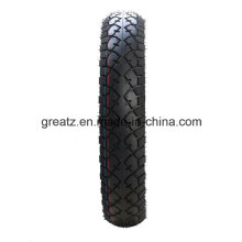 China Good Tubeless 90/90-10 Factory Motorcycle Tyre