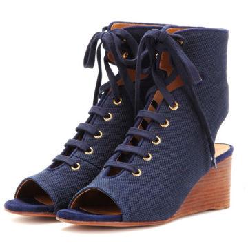UK latest fashion women wedge shoes new modern sandals