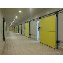 Один способ/двойной способ раздвижная дверь для холодной комнаты