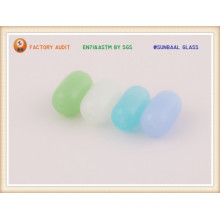 Frosted Color Glass Bead for Bracelet