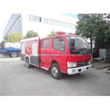 Dongfeng caminhão de combate a incêndio com equipamentos de combate a incêndio