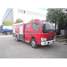 Camion de pompiers Dongfeng avec équipement de lutte contre l'incendie