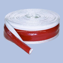 Luva de fibra de vidro à prova de fogo de borracha de silicone