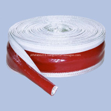 Silicone rubber fireproof fiberglass sleeve