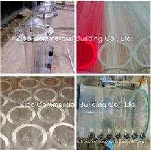 Tubo acrílico / tubo usado no tratamento de esgotos / proteção do meio ambiente