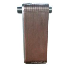 Échangeur de chaleur à plaques de titane bon marché de haute qualité