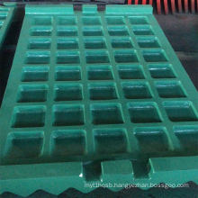 Good quality Jaw Crusher Wear Spare Parts Fixed Stationary Swing Jaw Plate used in Mine Crushers