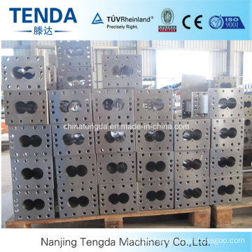 Hot Selling Tengda Double Screw Extruder Barrel