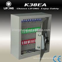 Key drop lock box for keeping keys