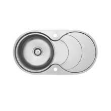 stainless steel kitchen sink plug with drain board