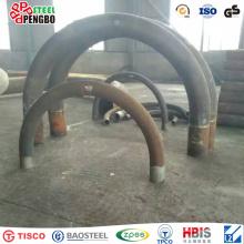 Tuyau de courbure en acier inoxydable d'ASTM A240 avec du CE