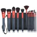 Trousse de pinceau de maquillage professionnel 12pc