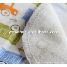 Meilleur vente coton flanelle enfants bébé couvertures bébés