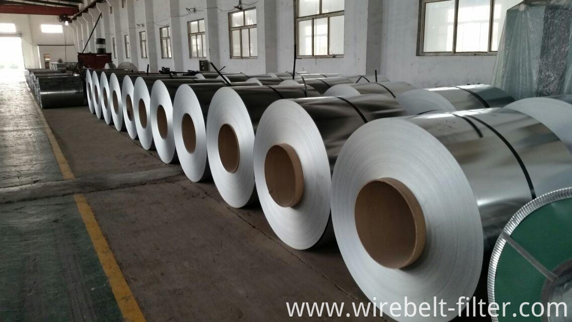 factory of steel coil