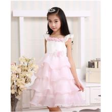 Sommerblumen-Parteikleid-Ballettröckchenkleid für Kindermädchen tragen Hochzeitskleid