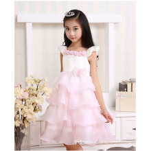 vestido floral do tutu do vestido de partido do verão para meninas das crianças veste o vestido de casamento
