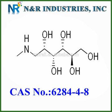 N & R heiße Verkauf Rohmaterial API Meglumine / 6284-40-8