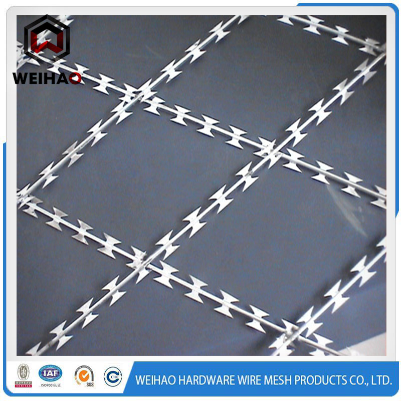 straight line razor barbed wire