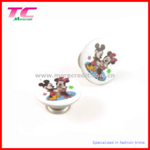 Fancy Jeans Button with Printed Cartoon Logo (TC-B072)