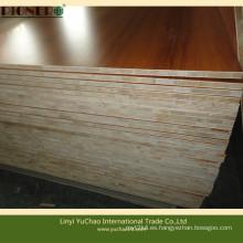 Tablero de madera de la melamina del color del gr