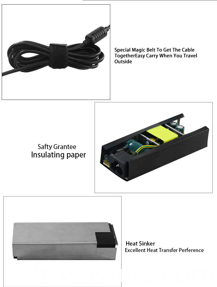 15v 3a laptop charger