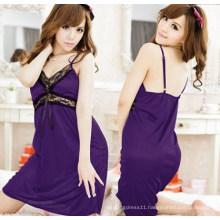 Sexy Silk Babydoll Sleepwear (FS5831)